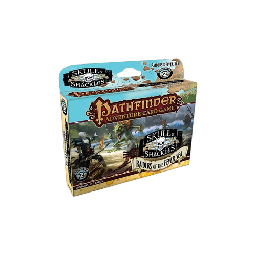 Дополнение к настольной игре Pathfinder Adventure Card Game: Skull & Shackles – Raiders of the Fever Sea Adventure Deck