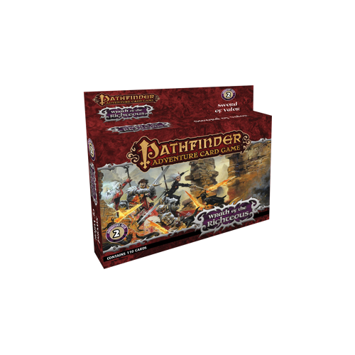 Дополнение к настольной игре Pathfinder Adventure Card Game: Wrath of the Righteous Adventure Deck 2 – Sword of Valor