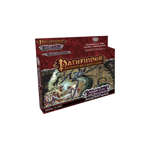 Дополнение к настольной игре Pathfinder Adventure Card Game: Wrath of the Righteous Adventure Deck 5 – Herald of the Ivory Labyrinth