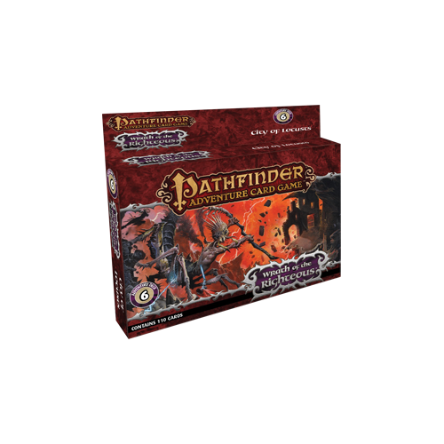 Дополнение к настольной игре Pathfinder Adventure Card Game: Wrath of the Righteous Adventure Deck 6 – City of Locusts
