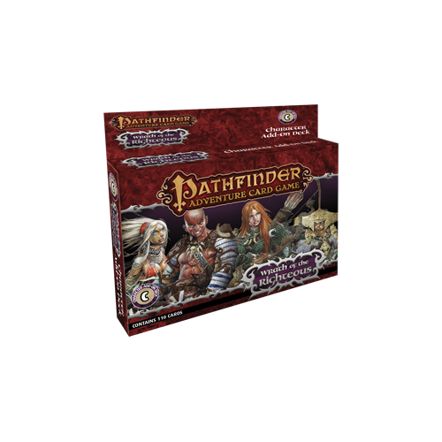 Дополнение к настольной игре Pathfinder Adventure Card Game: Wrath of the Righteous – Character Add-On Deck