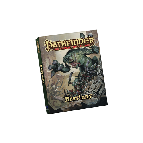 Книга Pathfinder RPG Bestiary (Pocket Edition)