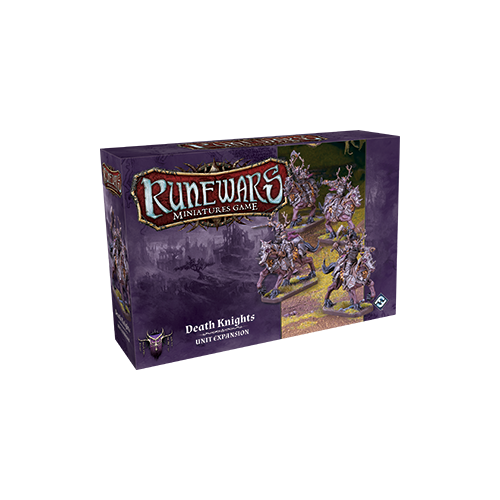 Дополнение к настольной игре Runewars Miniatures Game: Death Knights – Unit Expansion