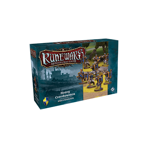 Дополнение к настольной игре Runewars Miniatures Game: Heavy Crossbowmen – Unit Expansion