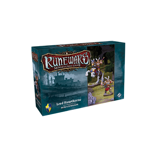 Дополнение к настольной игре Runewars Miniatures Game: Lord Hawthorne – Hero Expansion
