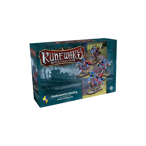 Дополнение к настольной игре Runewars Miniatures Game: Oathsworn Cavalry – Unit Expansion