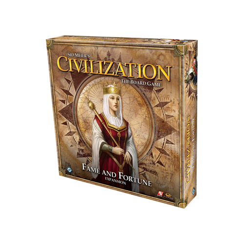 Дополнение к настольной игре Sid Meier's Civilization: The Board Game – Fame and Fortune