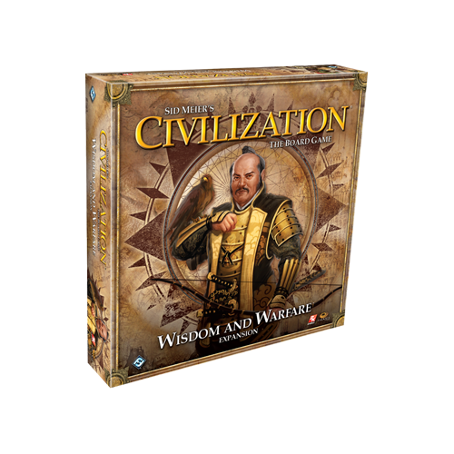 Дополнение к настольной игре Sid Meier's Civilization: The Board Game – Wisdom and Warfare