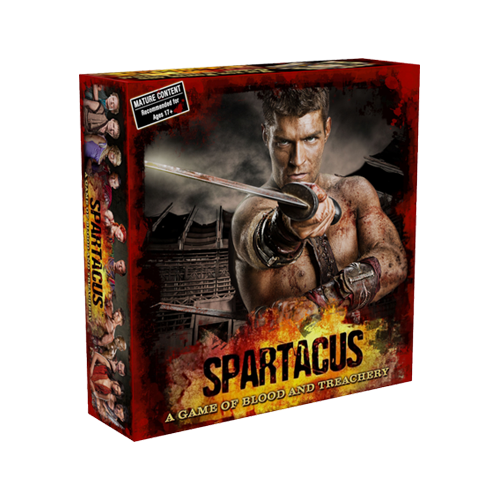 Настольная игра Spartacus: A Game of Blood & Treachery