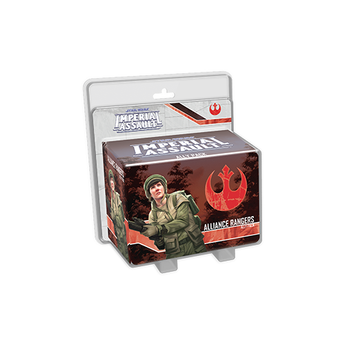 Дополнение к настольной игре Star Wars: Imperial Assault – Alliance Rangers Ally Pack