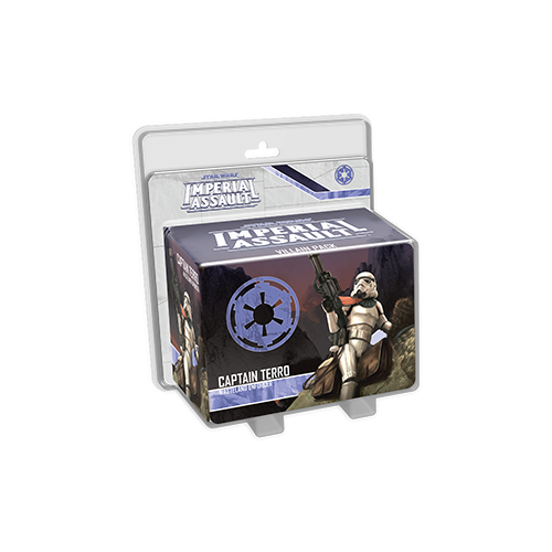 Дополнение к настольной игре Star Wars: Imperial Assault – Captain Terro Villain Pack