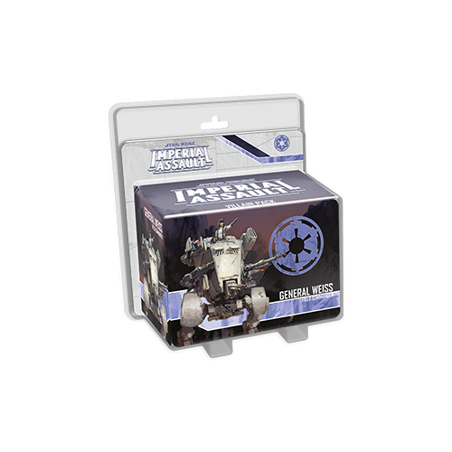 Дополнение к настольной игре Star Wars: Imperial Assault – General Weiss Villain Pack