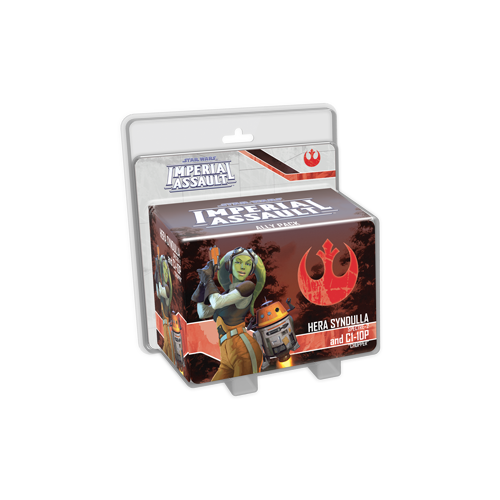Дополнение к настольной игре Star Wars: Imperial Assault – Hera Syndulla and C1-10P Ally Pack