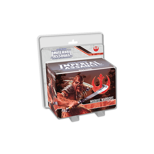 Дополнение к настольной игре Star Wars: Imperial Assault – Wookiee Warriors Ally Pack