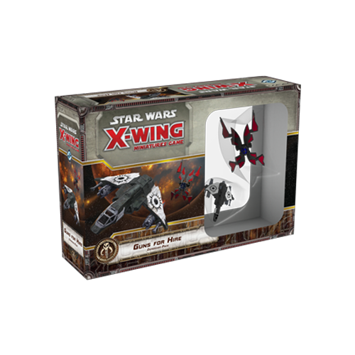 Дополнение к настольной игре Star Wars: X-Wing Miniatures Game – Guns for Hire Expansion Pack