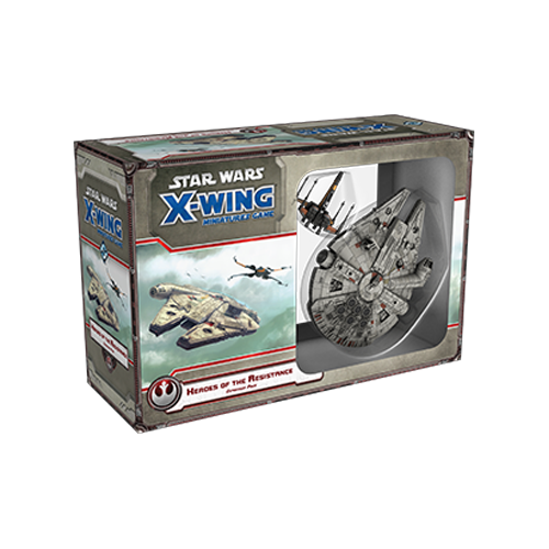 Дополнение к настольной игре Star Wars: X-Wing Miniatures Game – Heroes of the Resistance Expansion Pack
