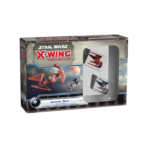 Дополнение к настольной игре Star Wars: X-Wing Miniatures Game – Imperial Aces Expansion Pack