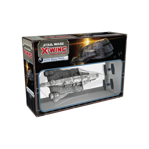 Дополнение к настольной игре Star Wars: X-Wing Miniatures Game – Imperial Assault Carrier Expansion Pack