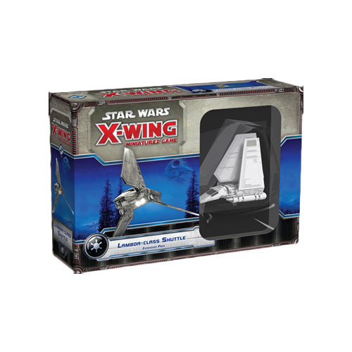 Дополнение к настольной игре Star Wars: X-Wing Miniatures Game – Lambda-class Shuttle Expansion Pack