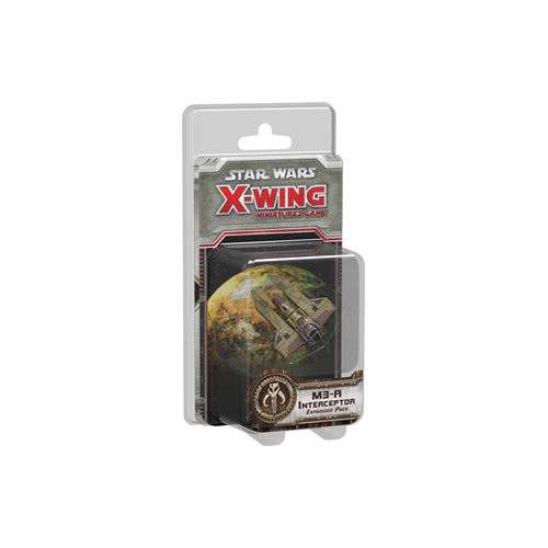 Дополнение к настольной игре Star Wars: X-Wing Miniatures Game – M3-A Interceptor Expansion Pack