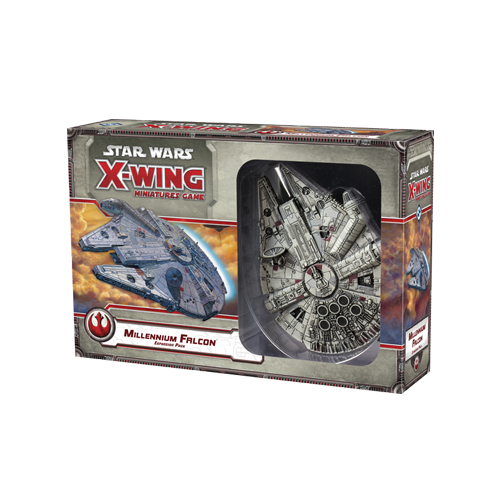 Дополнение к настольной игре Star Wars: X-Wing Miniatures Game – Millennium Falcon Expansion Pack