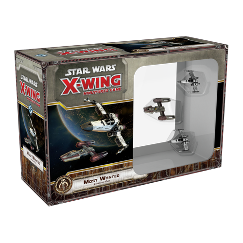 Дополнение к настольной игре Star Wars: X-Wing Miniatures Game – Most Wanted Expansion Pack