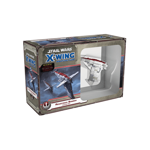 Дополнение к настольной игре Star Wars: X-Wing Miniatures Game – Resistance Bomber Expansion Pack
