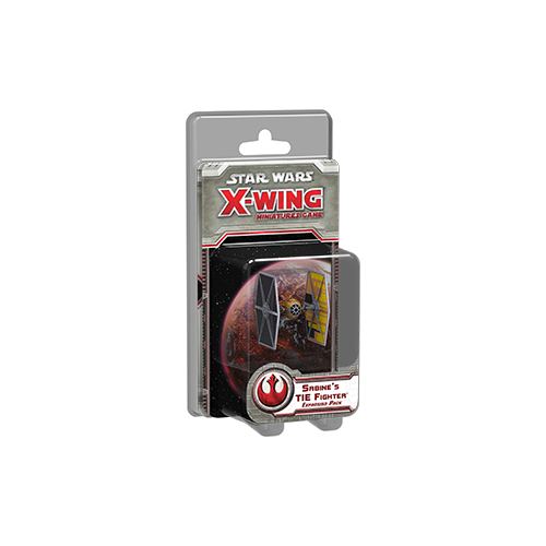Дополнение к настольной игре Star Wars: X-Wing Miniatures Game – Sabine's TIE Fighter Expansion Pack