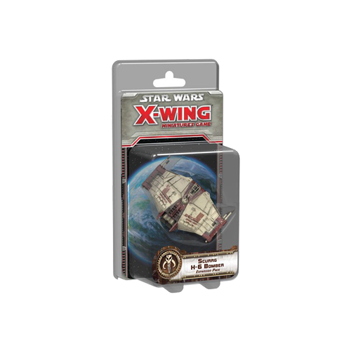 Дополнение к настольной игре Star Wars: X-Wing Miniatures Game – Scurrg H-6 Bomber Expansion Pack