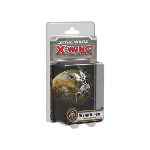 Дополнение к настольной игре Star Wars: X-Wing Miniatures Game – StarViper Expansion Pack