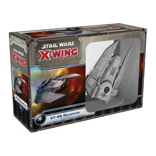 Дополнение к настольной игре Star Wars: X-Wing Miniatures Game – VT-49 Decimator Expansion Pack