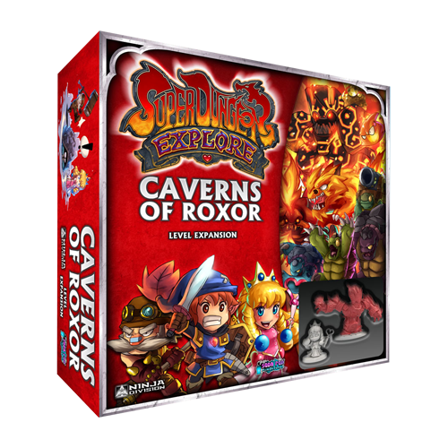 Дополнение к настольной игре Super Dungeon Explore: Caverns of Roxor (Second Edition)