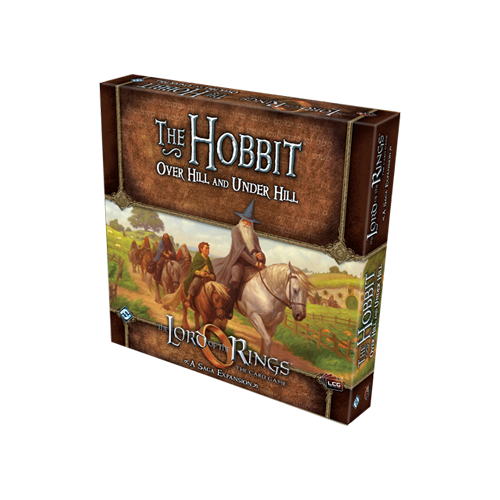 Дополнение к настольной игре The Lord of the Rings: The Card Game – The Hobbit: Over Hill and Under Hill