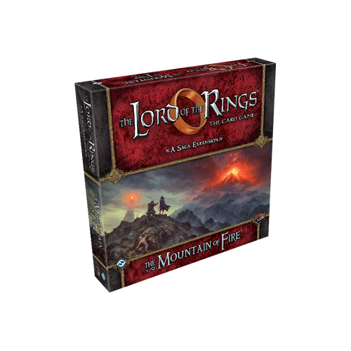 Дополнение к настольной игре The Lord of the Rings: The Card Game – The Mountain of Fire