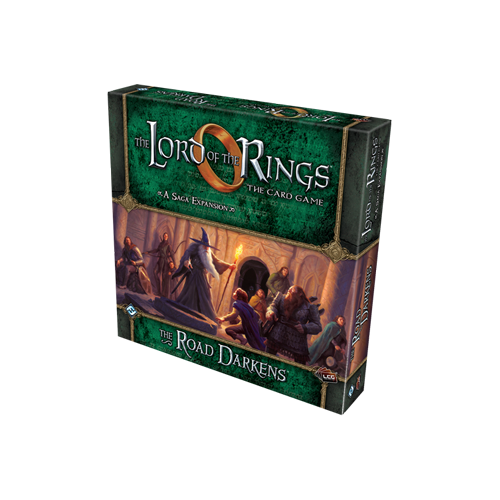 Дополнение к настольной игре The Lord of the Rings: The Card Game – The Road Darkens