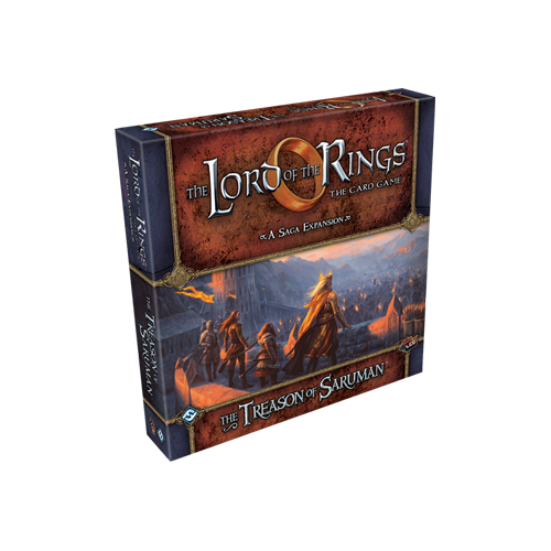 Дополнение к настольной игре The Lord of the Rings: The Card Game – The Treason of Saruman