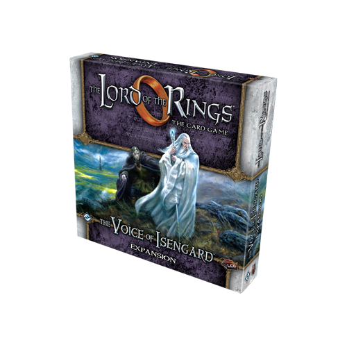 Дополнение к настольной игре The Lord of the Rings: The Card Game – The Voice of Isengard