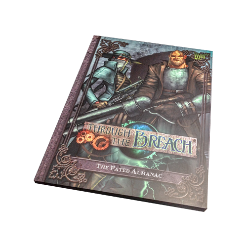 Книга Through the Breach: The Fated Almanac