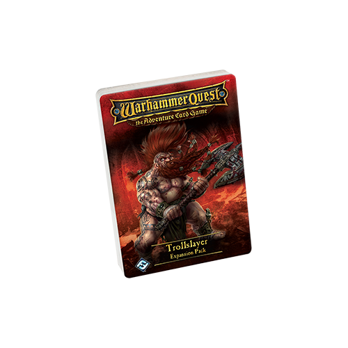 Дополнение к настольной игре Warhammer Quest: The Adventure Card Game – Trollslayer Expansion Pack