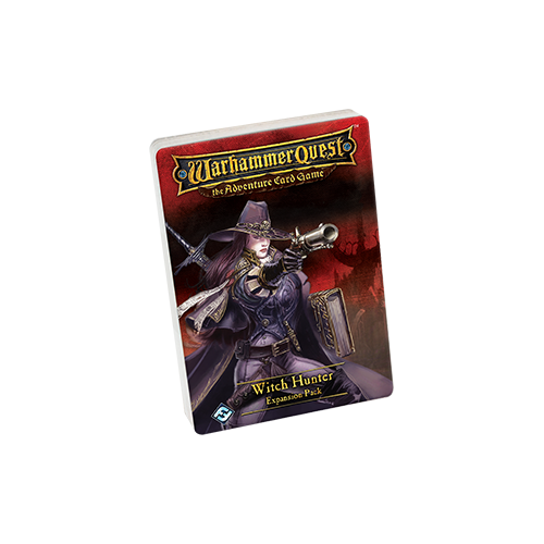 Дополнение к настольной игре Warhammer Quest: The Adventure Card Game – Witch Hunter Expansion Pack