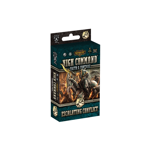 Дополнение к настольной игре Warmachine: High Command – Faith & Fortune: Escalating Conflict