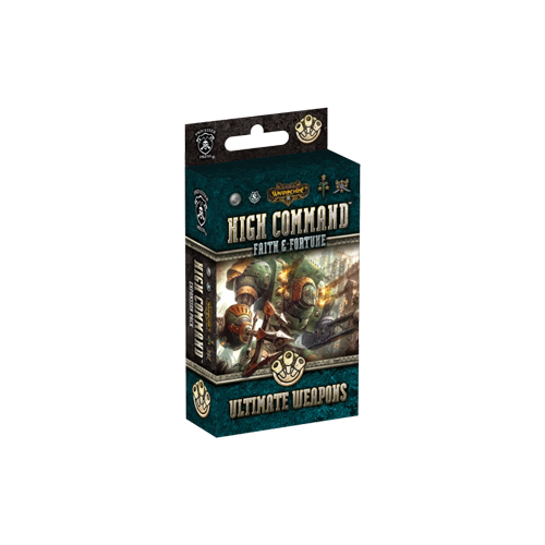 Дополнение к настольной игре Warmachine: High Command – Faith & Fortune: Ultimate Weapons