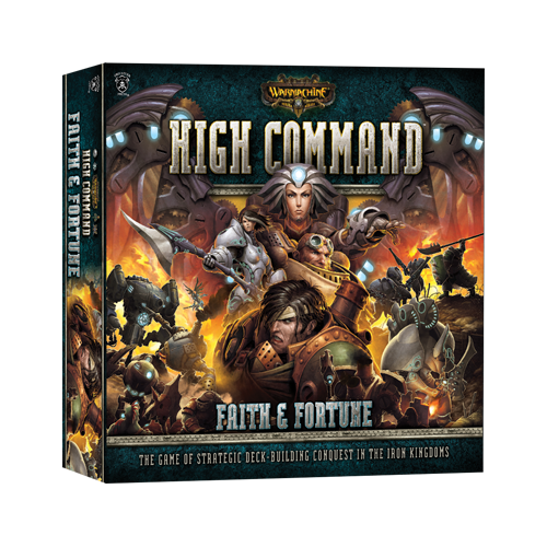 Настольная игра Warmachine: High Command – Faith & Fortune