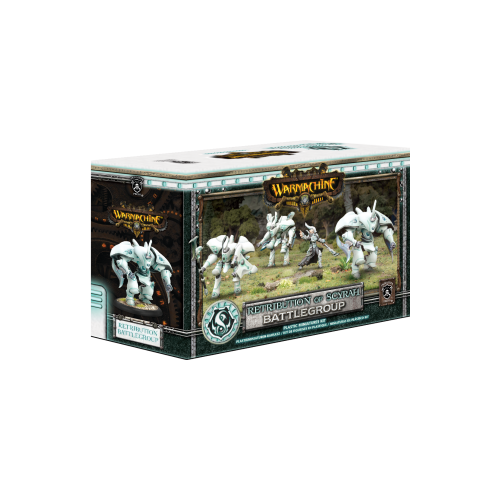 Дополнение к настольной игре Warmachine MK III: Retribution of Scyrah Battlegroup Starter Box