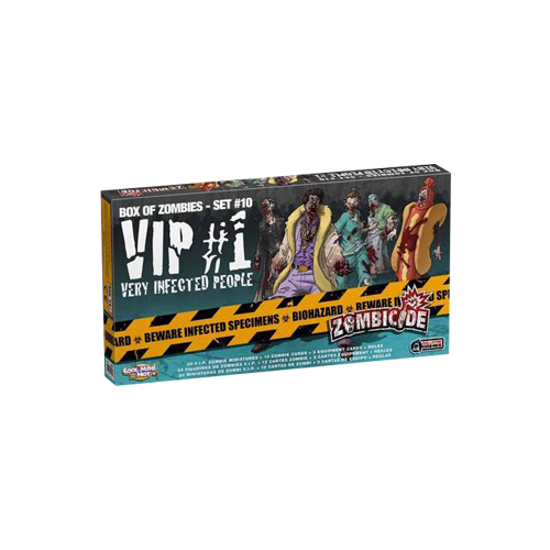 Дополнение к настольной игре Zombicide Box of Zombies Set #10: VIP #1 – Very Infected People