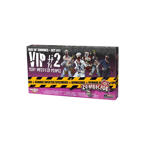 Дополнение к настольной игре Zombicide Box of Zombies Set #11: VIP #2 – Very Infected People