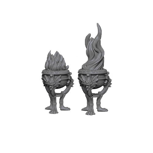 Набор Миниатюр Pathfinder Deep Cuts Unpainted Miniatures - Braziers
