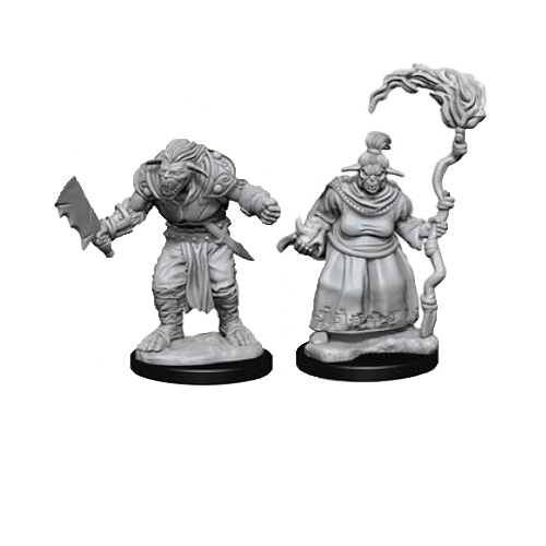 Набор Миниатюр Pathfinder Deep Cuts Unpainted Miniatures - Bugbears