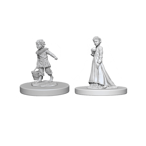 Набор Миниатюр Pathfinder Deep Cuts Unpainted Miniatures - Children