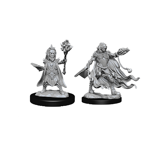 Набор Миниатюр Pathfinder Deep Cuts Unpainted Miniatures - Evil Wizards